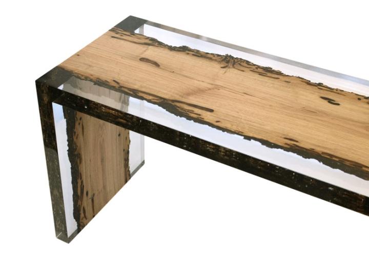 Потрясающая деревянная скамья Bent Bench от alcarol