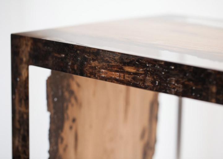 Замечательная деревянная скамья Bent Bench от alcarol