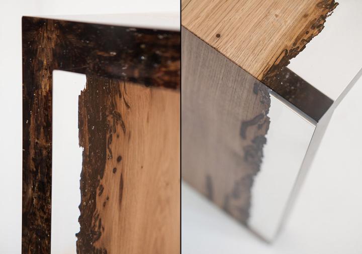 Шикарная деревянная скамья Bent Bench от alcarol
