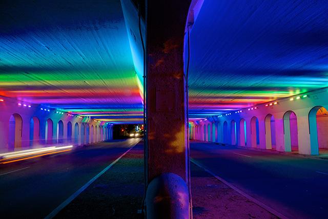 Чудесный световой портал от Bill FitzGibbons