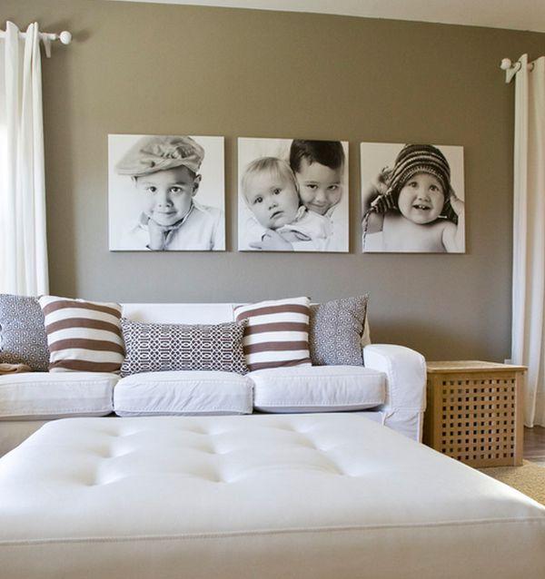 Как оформить стены в спальне фото своими руками