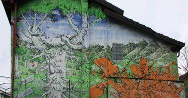 Blu: итальянский уличный художник с эпическим масштабом фресок