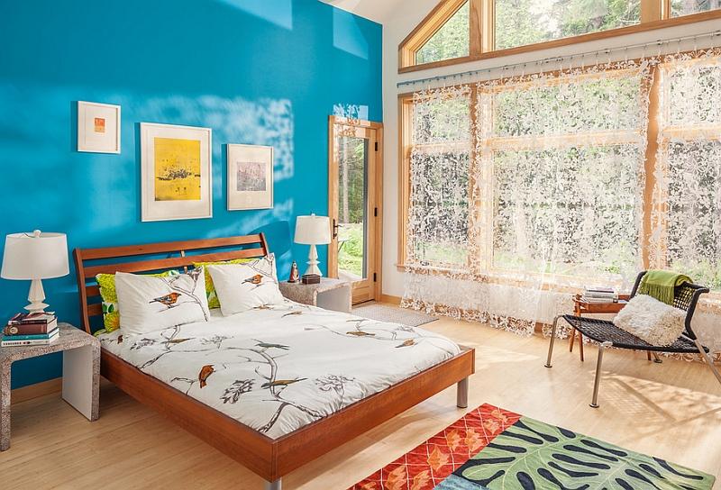 Спальня в курортном стиле