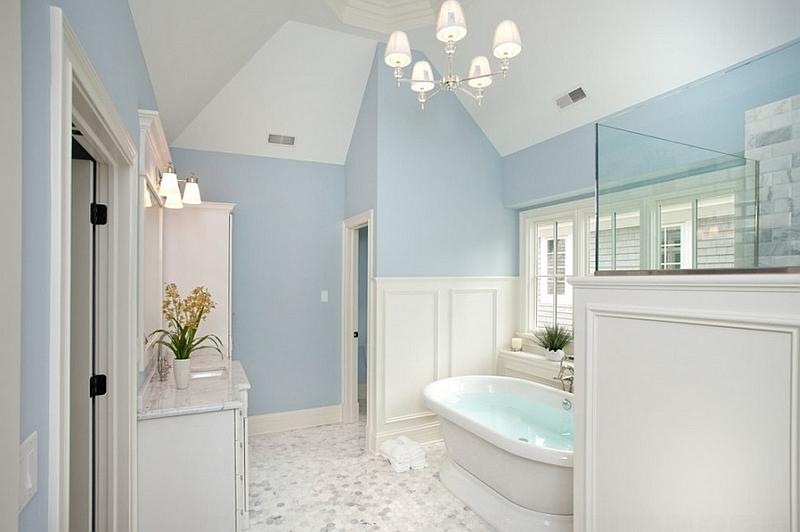 Роскошная традиционная ванная