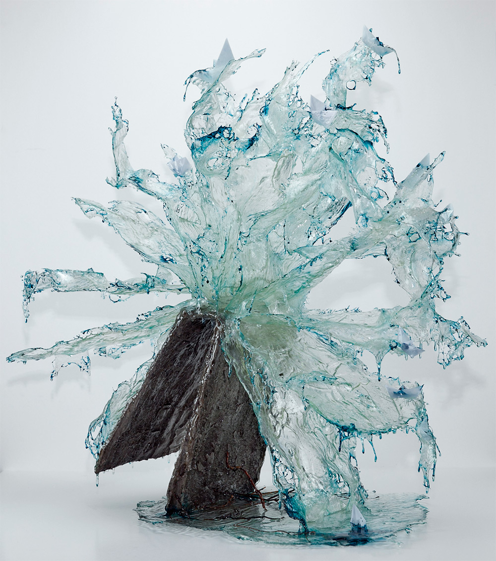 Скульптуры из смолы от Анналуиджии Боэретто