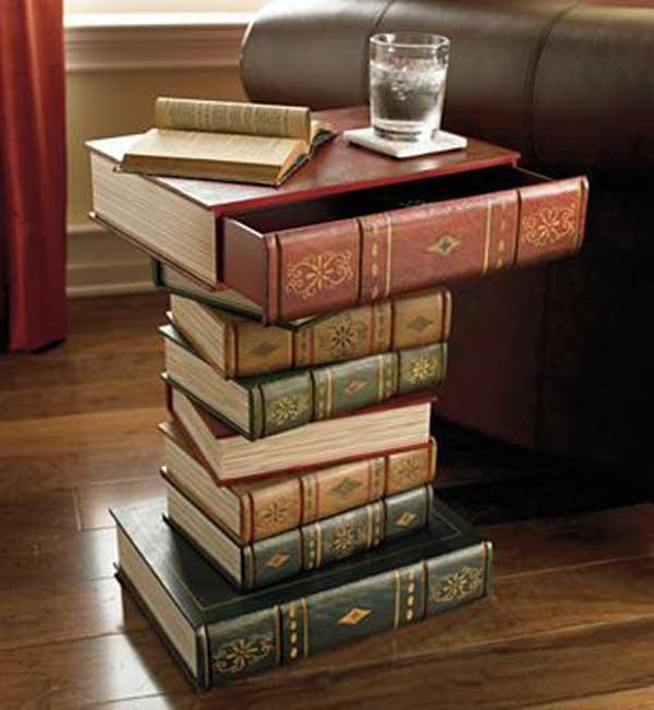 Кофейный столик в виде книг