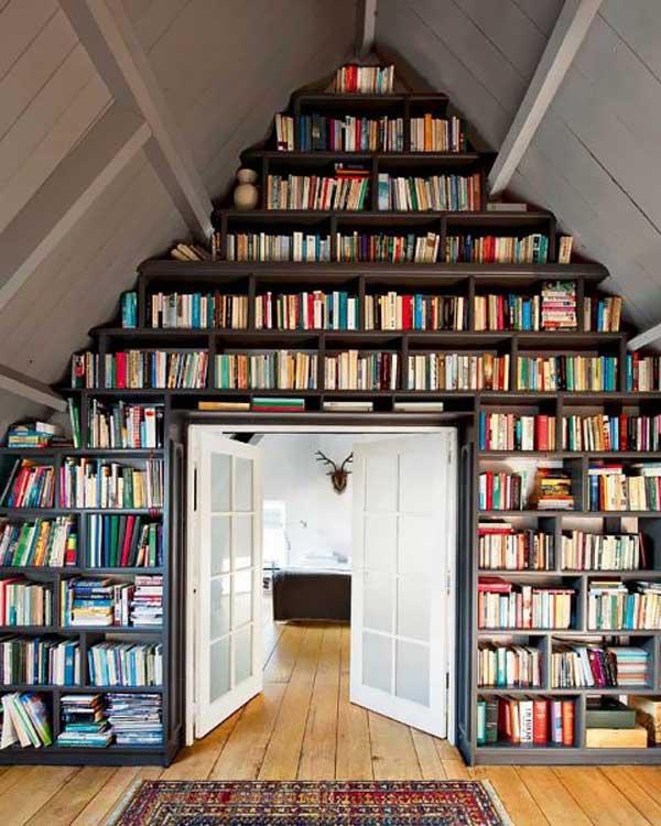 Библиотека на чердаке