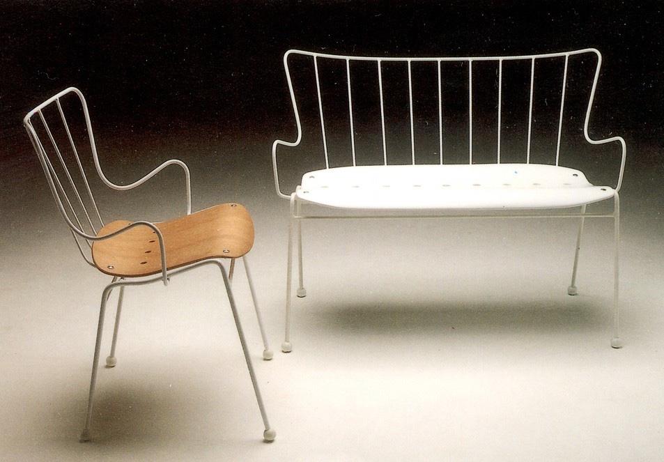 Британский стиль в дизайне - стул и скамейка Antelope