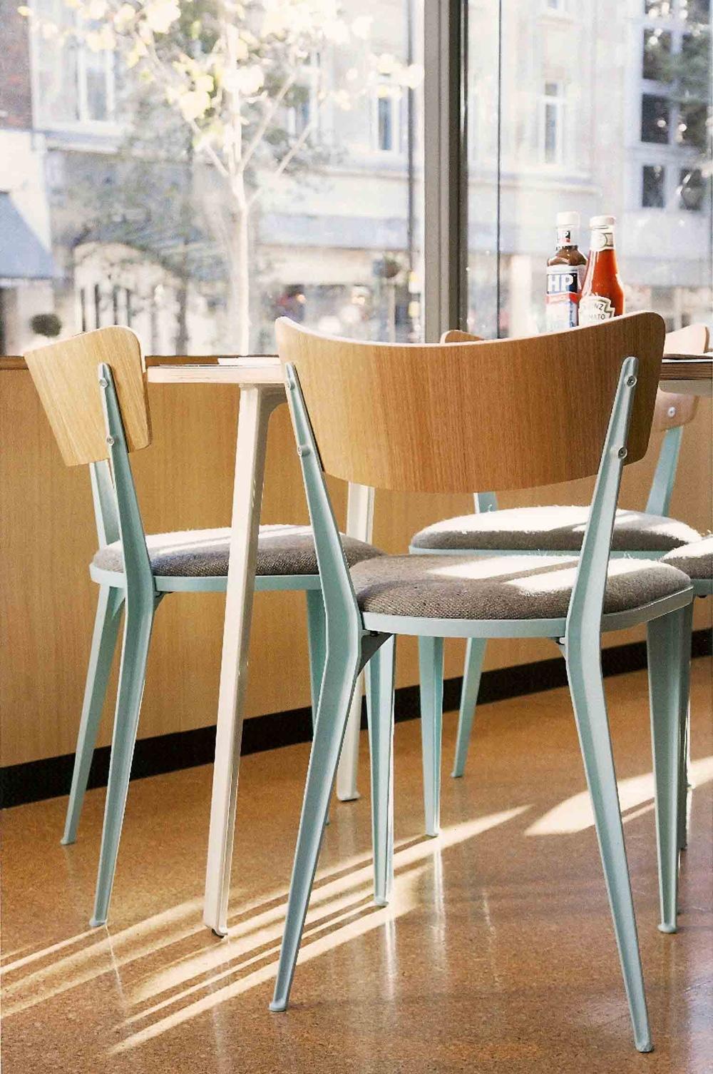 Британский стиль в дизайне - BA3 chairs