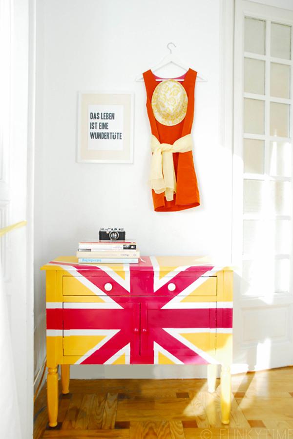 Символ Великобритании в декоре