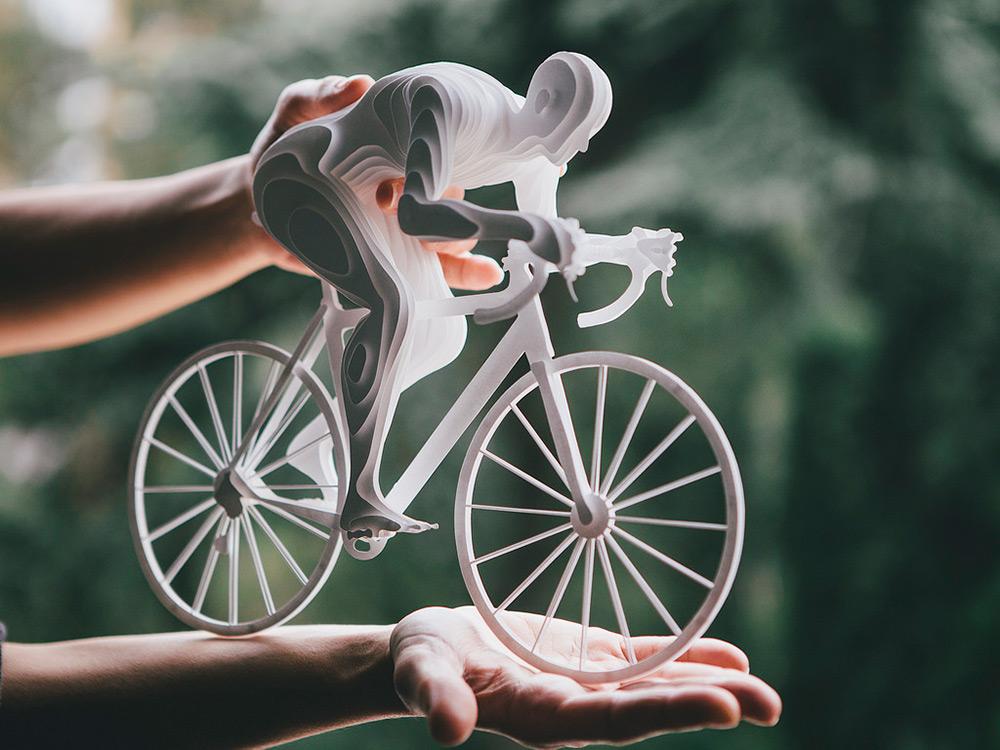 Бумажные олимпийцы: миниатюрные скульптуры от Райи Садер Буханы