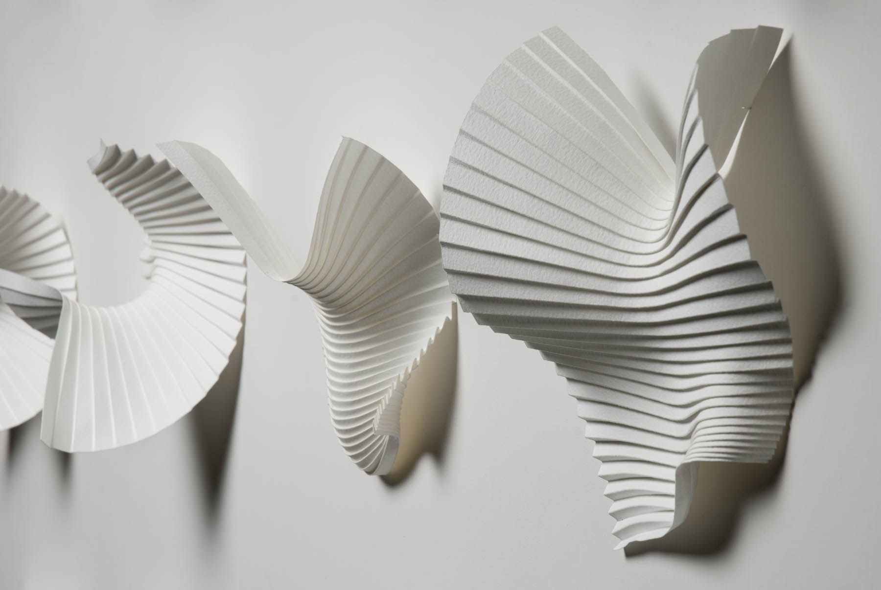 Объёмные бумажные скульптуры Ричарда Суини