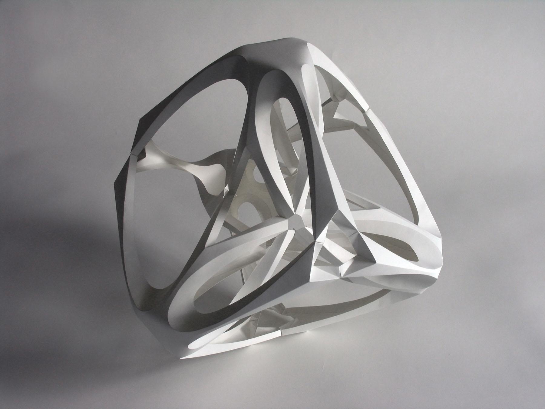 Объёмные бумажные скульптуры Ричарда Суини из плотного картона