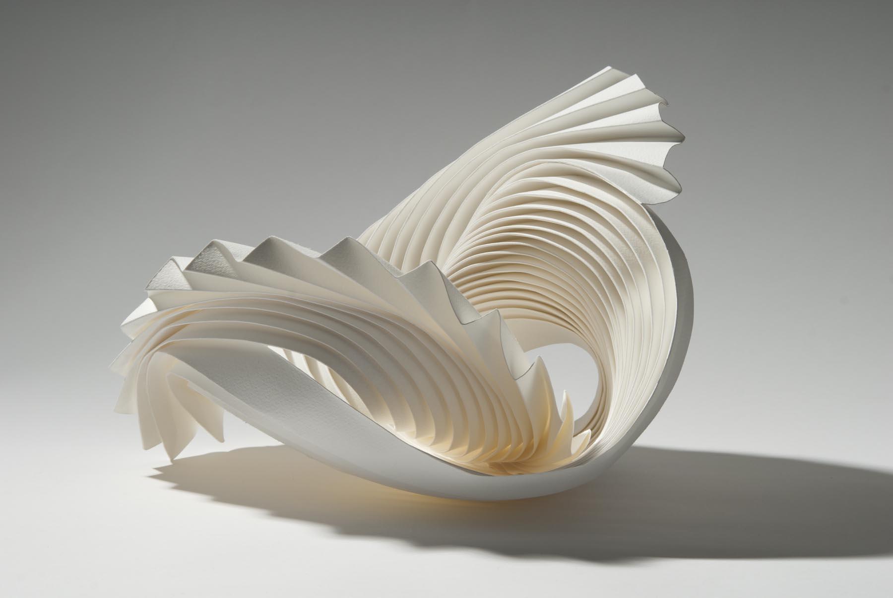Объёмные бумажные скульптуры Ричарда Суини: Пластика