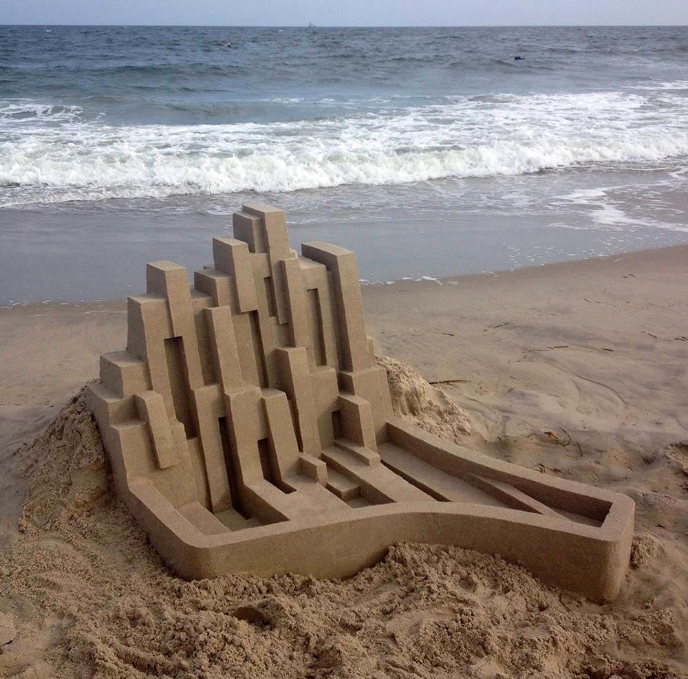 Кальвин Зайберт: новые модернистские архитектурные объекты из песка