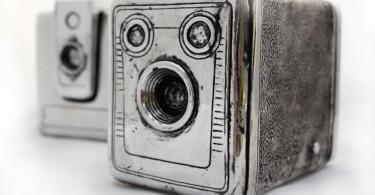 Старинные камеры в интерьере