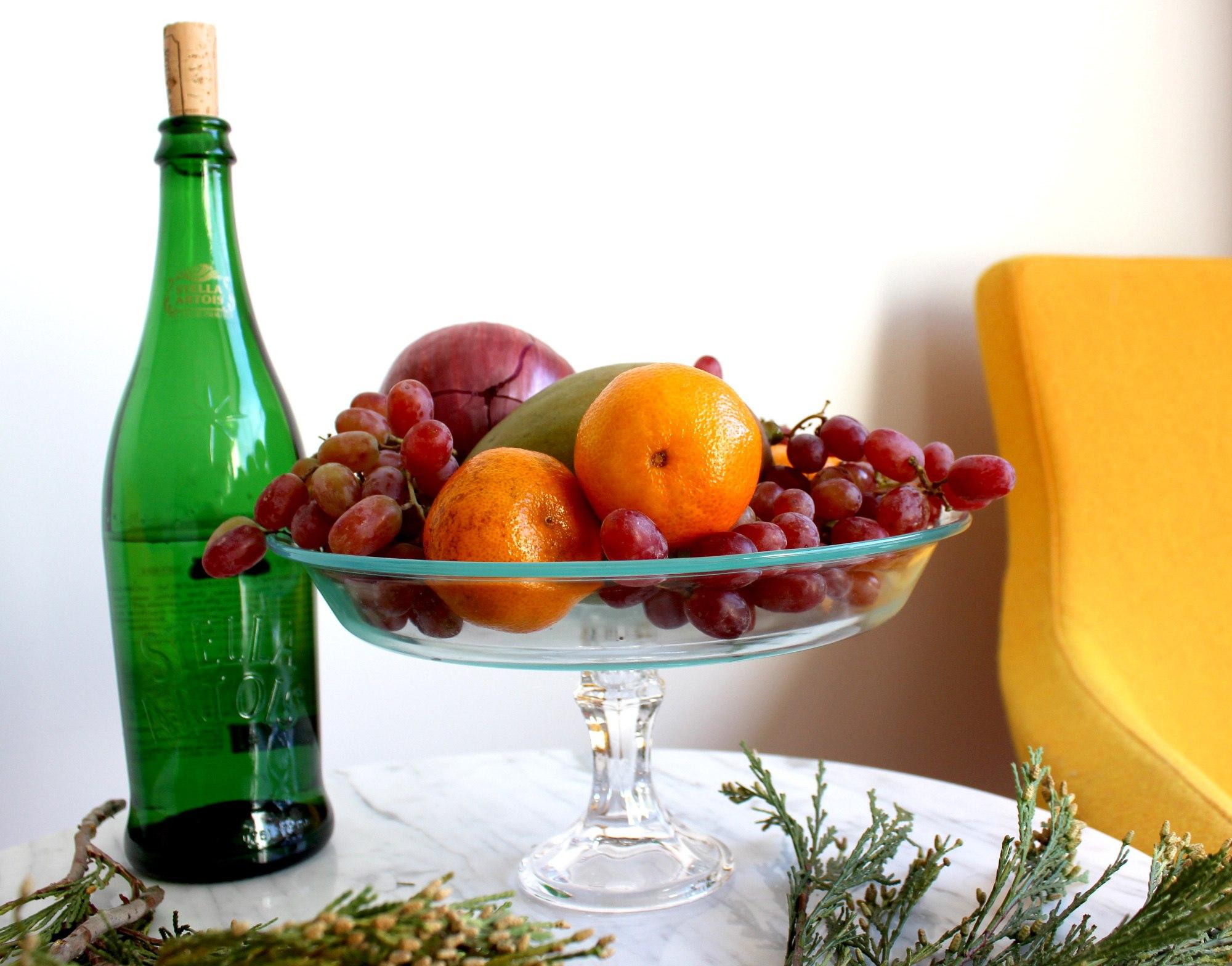 Вазы своими руками из фруктов и 92