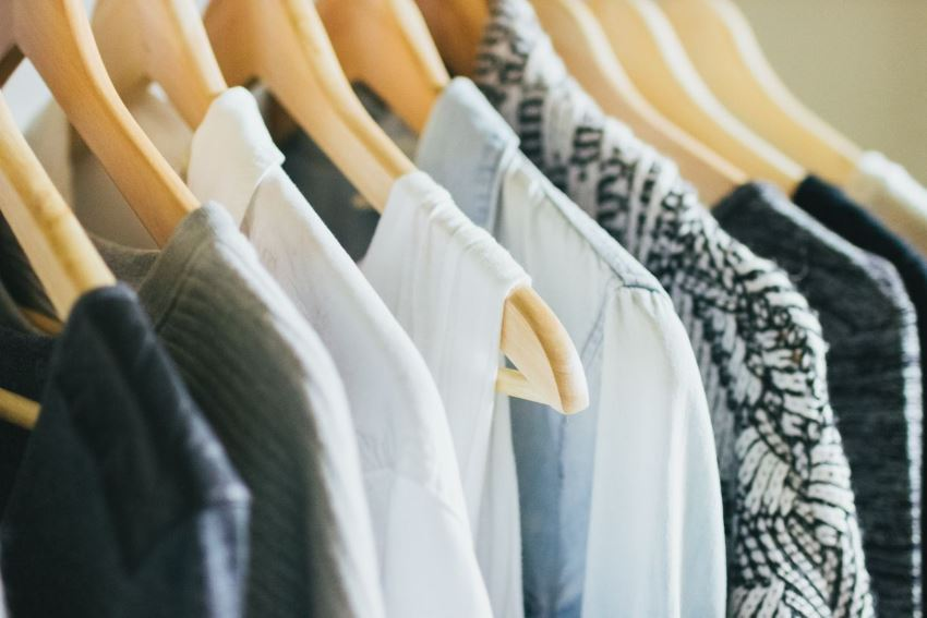 Прекрасная организация домашнего гардероба