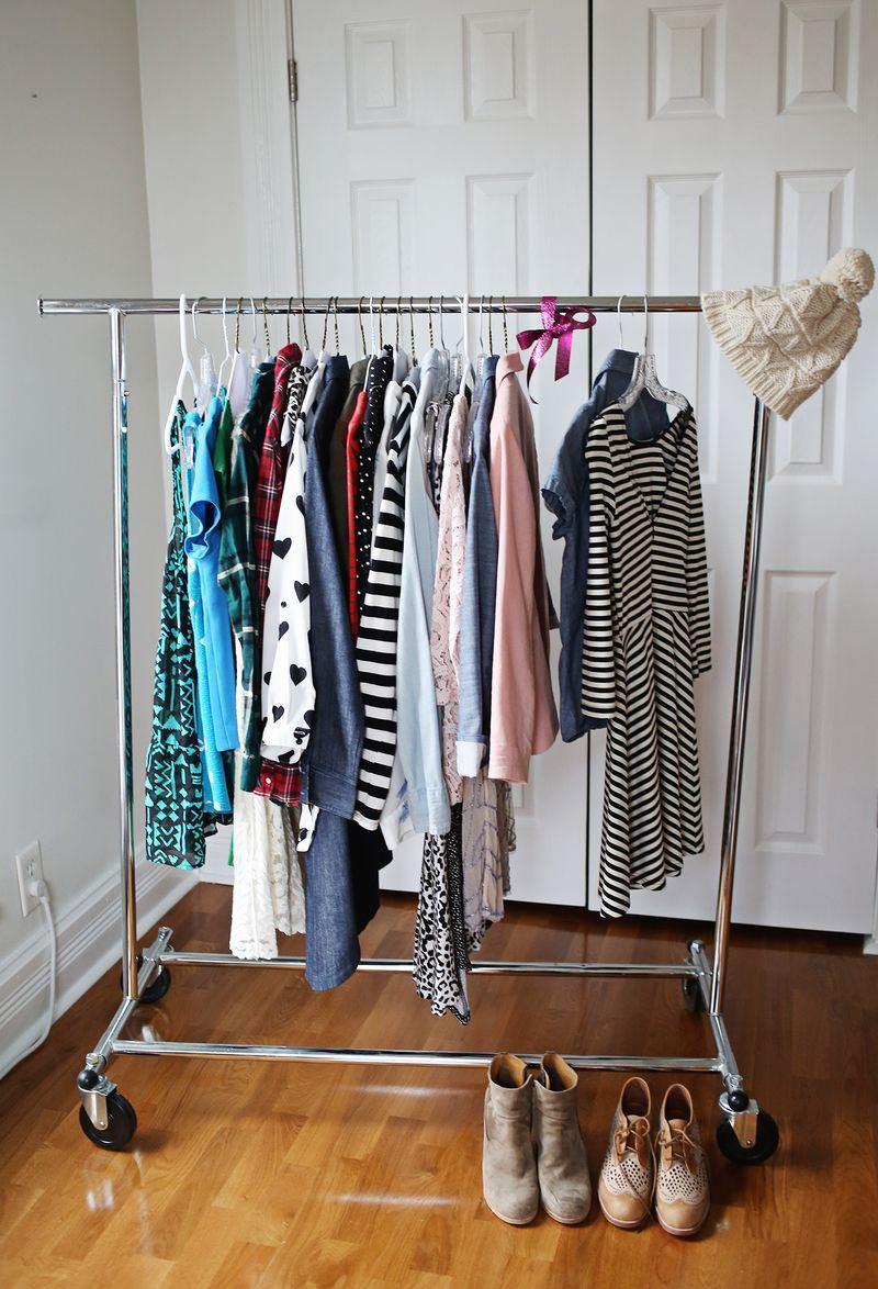 Шикарная организация домашнего гардероба