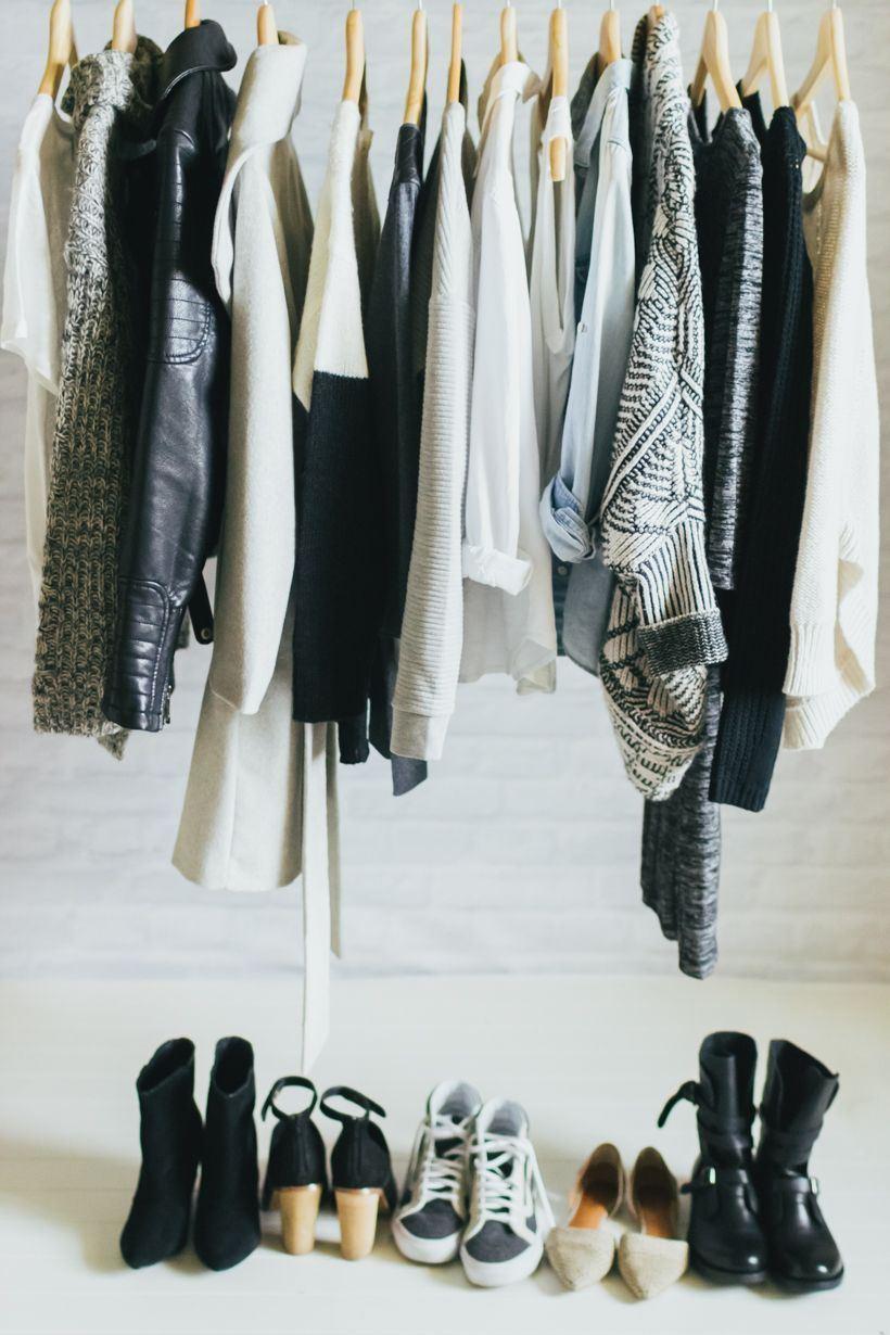 Чудесный организация домашнего гардероба