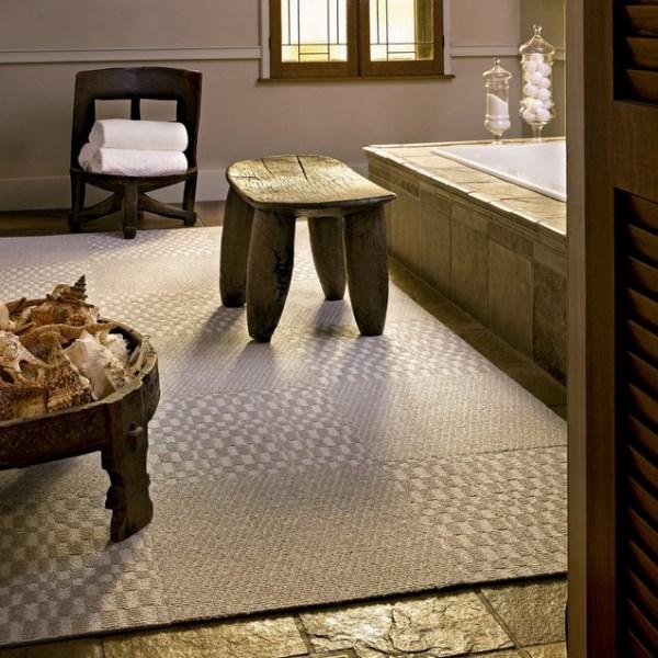 Дизайн интерьера с помощью ковровой плитки