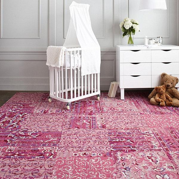 Чудесный дизайн интерьера с помощью ковровой плитки