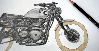 Картер Асманн: : искусство, мотоциклы и крепкий кофе