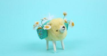 Cat Rabbit: игрушечный зоопарк прелестных персонажей из войлока
