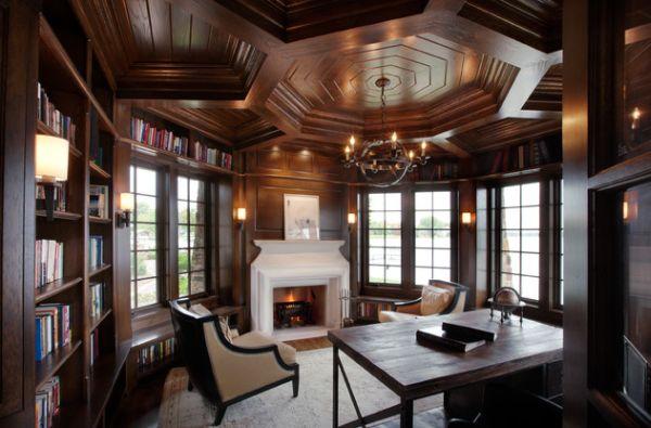 Домашний офис в классическом стиле