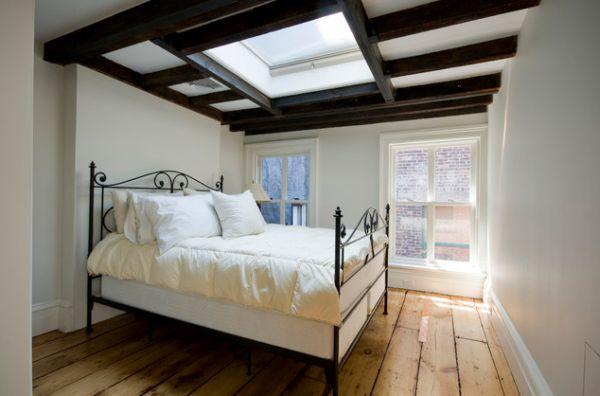 Небольшая спальня в минималистическом стиле