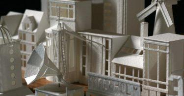 Чарльз Янг: миниатюрный бумажный город Пепейрхольм превращается в мегаполис