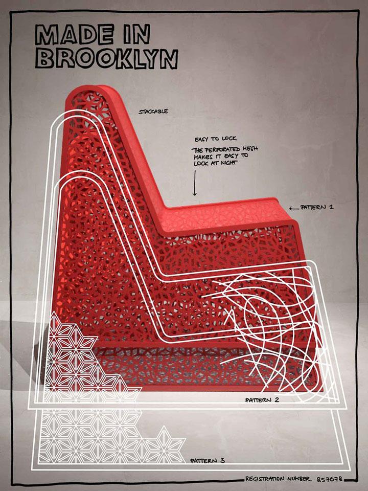 Этапы создания металлического кресла