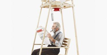 Кресло-качалка как инновационная вязальная машина