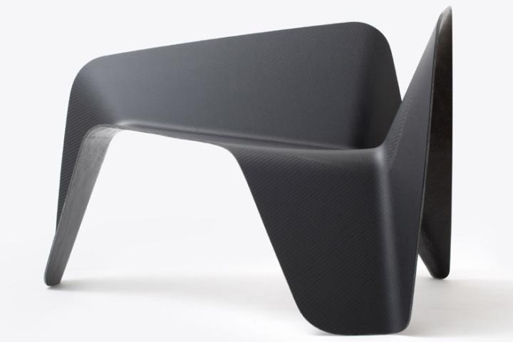 Карбоновое кресло от Thomas Feichtner