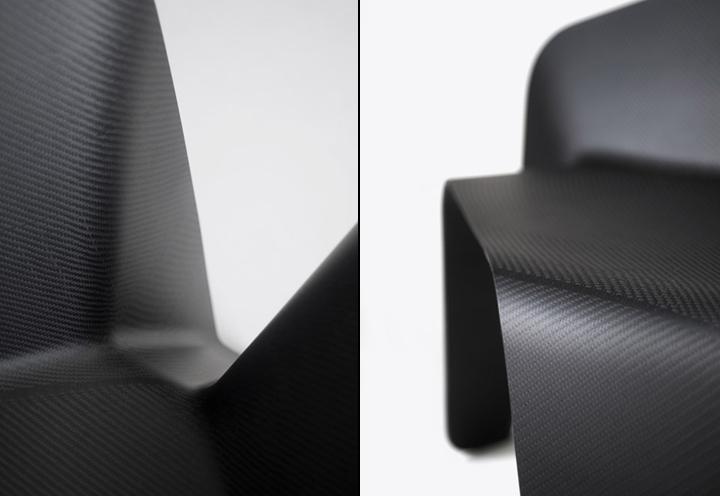 Прекрасное карбоновое кресло от Thomas Feichtner