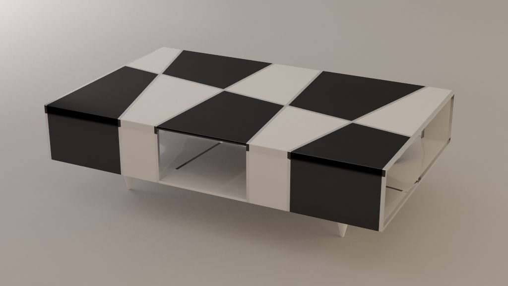 Chess table by Svilen Gamolov