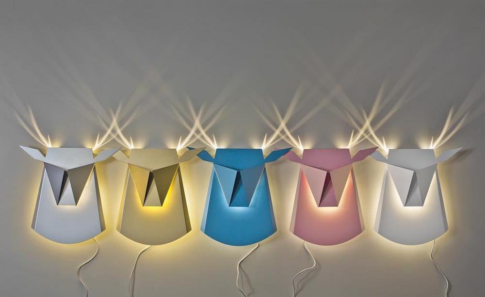 Ночной зоосад: оригинальные алюминиевые светильники от Хен Биковски