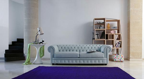 Бесподобный белый диван в гостиной