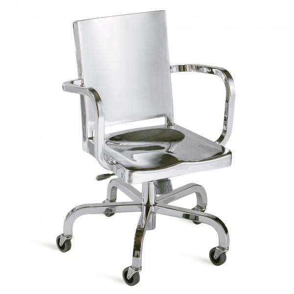 Зеркальный стул Hudson Swivel