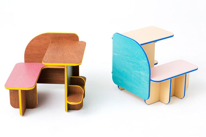 Детская мебель Dice от Torafu Architects
