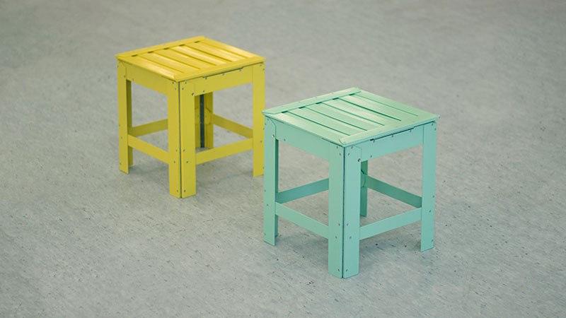 De-Dimension: функциональная мебель в двух измерениях от дизайнера Джонга Чоя