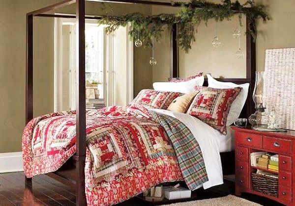 Рождественское постельное белье