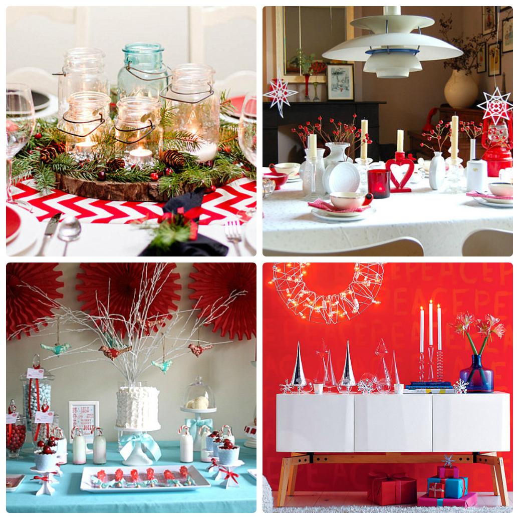 Примеры быстрого оформления праздничного стола