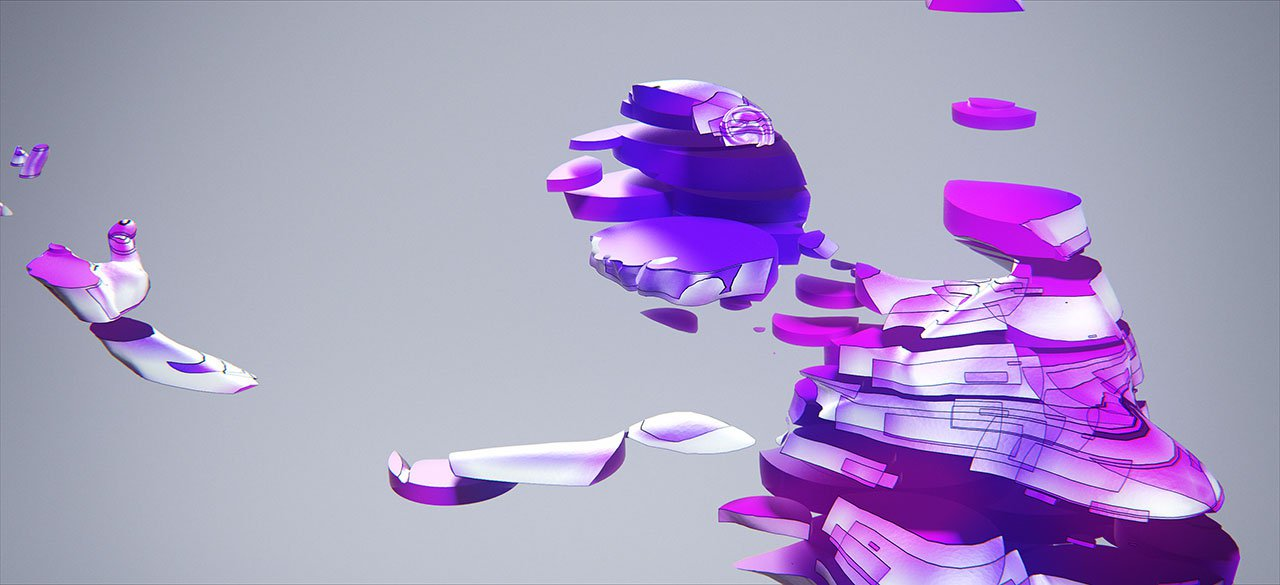 Коухеи Накама: уникальные приёмы анимации человеческих форм из набора геометрических фигур