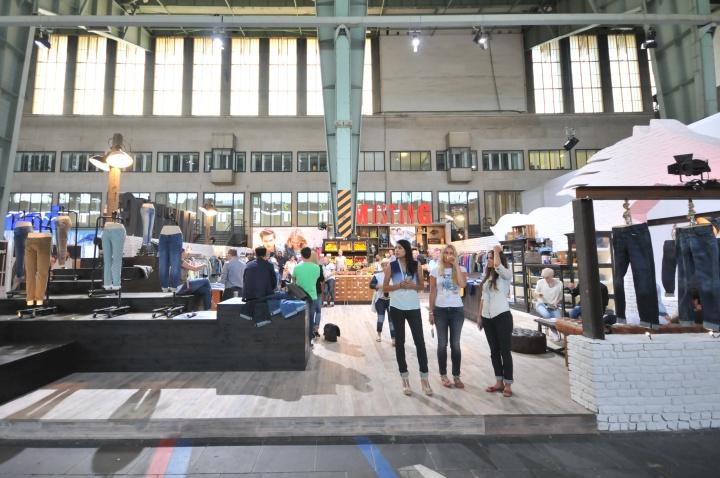 Внешний вид павильона на международной выставке