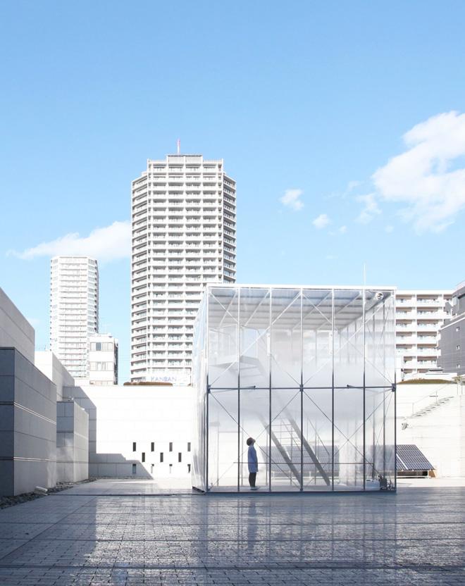 Инновационный герметический куб Cloudscapes от Tetsuo Kondo Architects и Transsolar
