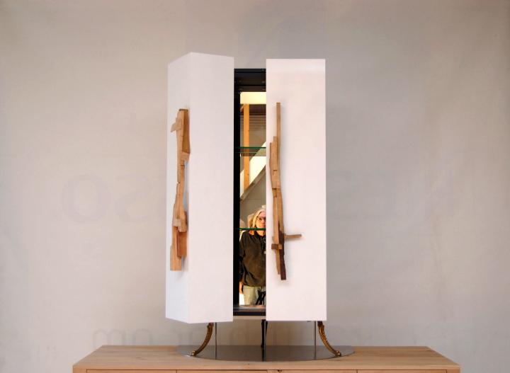 Minibar de madera de Paul Vermeulen