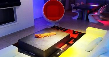 Креативный кофейный столик