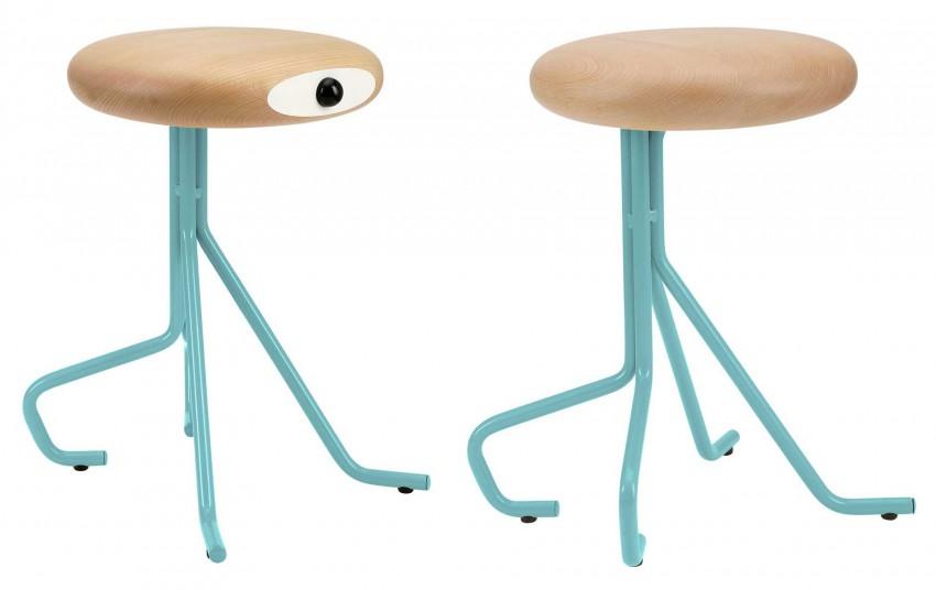 Голубой стул Companion Stools