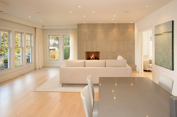 Дизайн интерьера гостиной в стиле манимализма